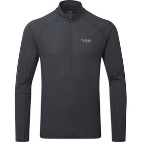 Rab Pulse LS Zip Men ebony
